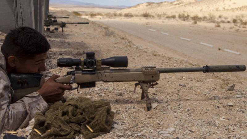 Le Mk13 Mod 7 le nouveau fusil de précision pour l'US MARSOC M40-sn10