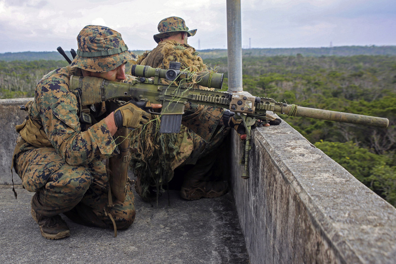 Le Mk13 Mod 7 le nouveau fusil de précision pour l'US MARSOC Marine11