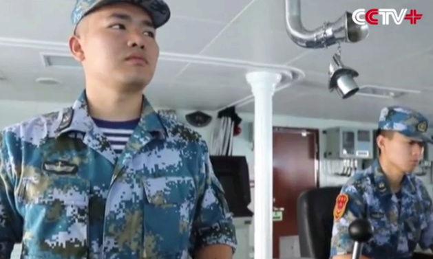 Escorte chinoise pour un navire du PAM dans l'Océan indien Marins10