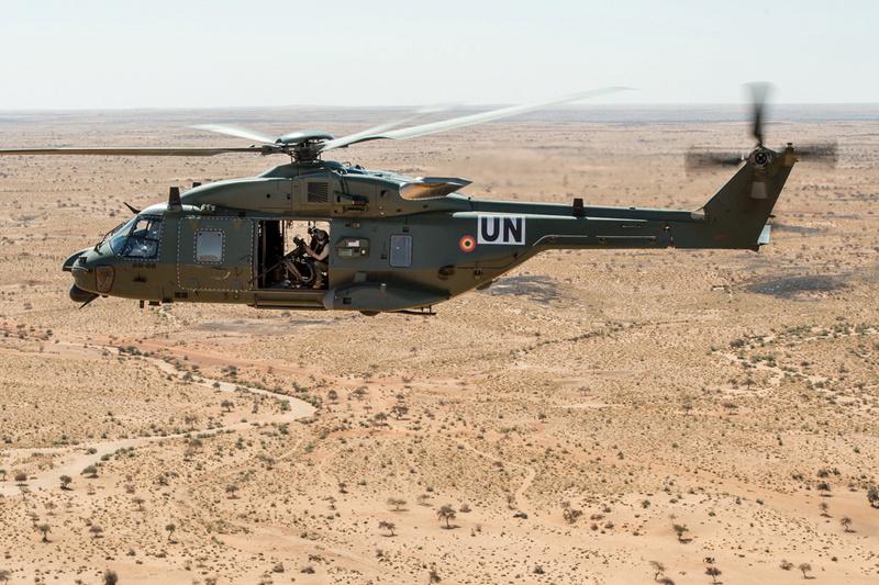 Un C-130 belge à la MINUSMA pour une durée d'un an  Nhbe0410