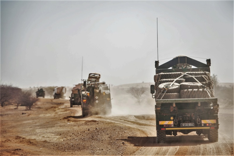 Convoi LOG au Mali, nom de code : Panthéra Panthe10