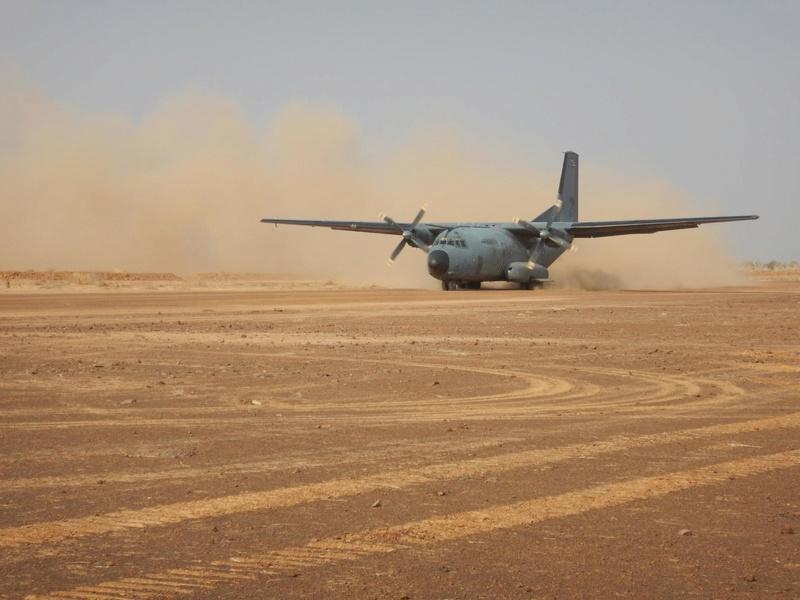 Une nouvelle piste aérienne pour Barkhane Piste110