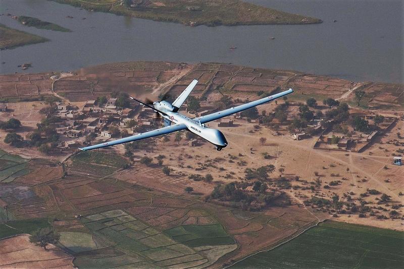 L'emploi du drone Reaper dans l'action à Barkhane Reaper10