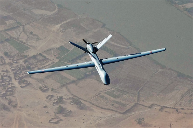 L'emploi du drone Reaper dans l'action à Barkhane Reaper11