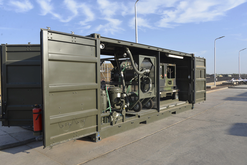 Premier déploiement de réservoirs aériens modulaires Reserv10