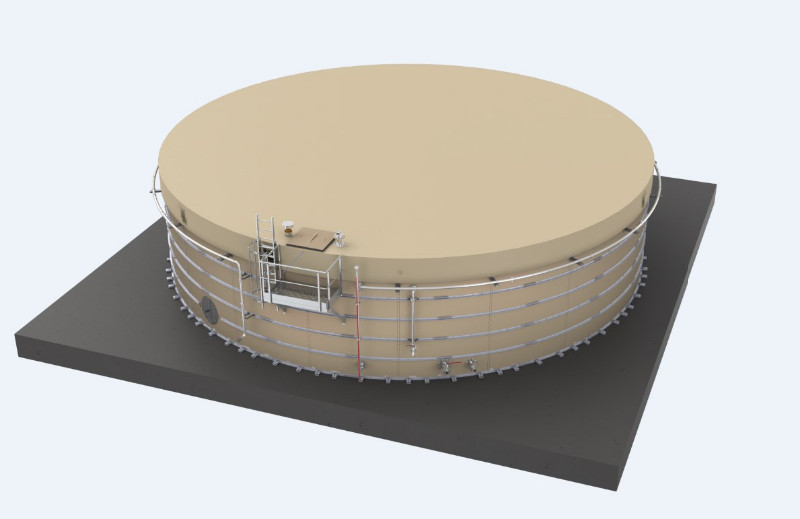 Premier déploiement de réservoirs aériens modulaires Screen13
