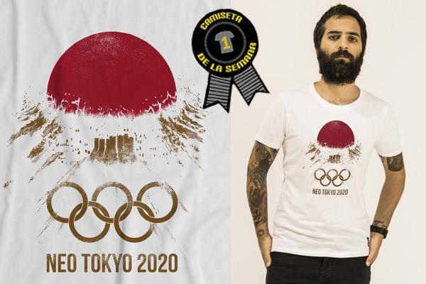 Juegos Olímpicos Tokio 2020  Camise10