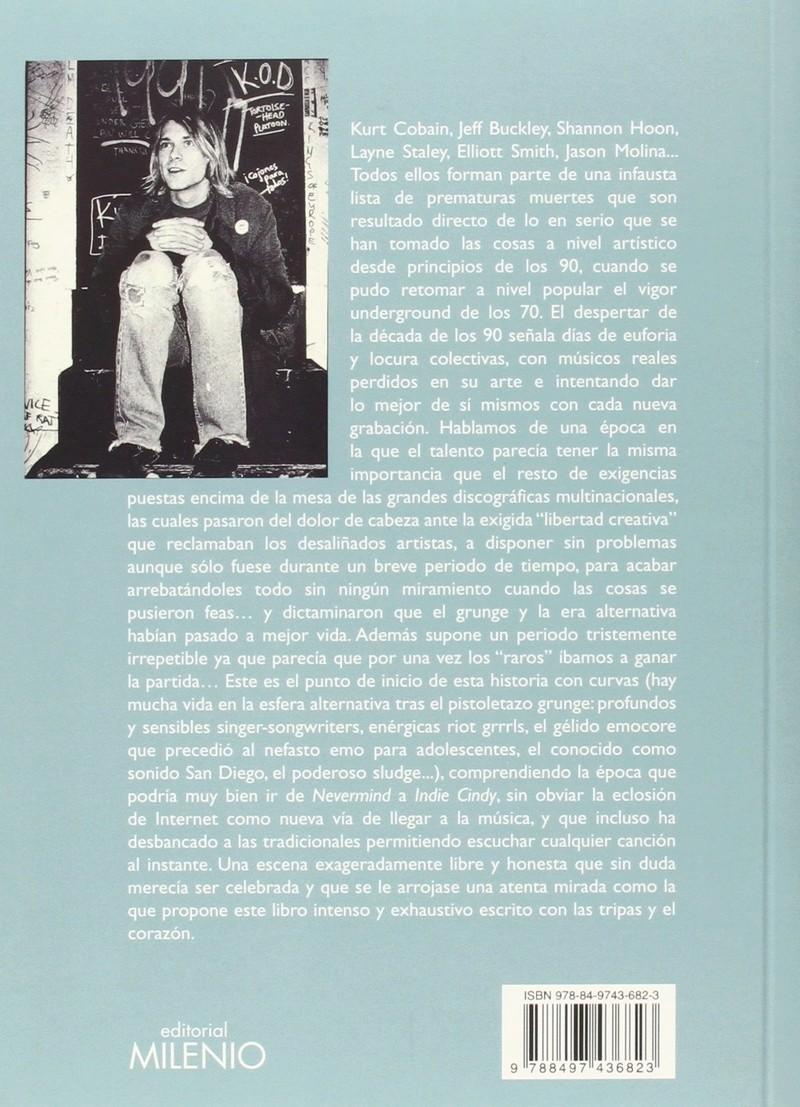Libro MÚSICA ALTERNATIVA. Un libro sobre la nostalgia noventera, ese bucle del foro Cov12