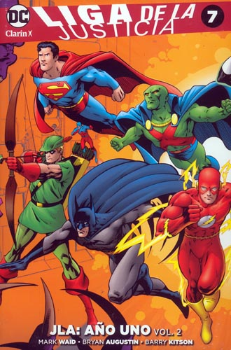 12 - [DC - Clarín] Liga de la Justicia 07a10