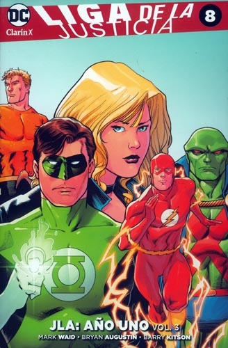 12 - [DC - Clarín] Liga de la Justicia 08a10