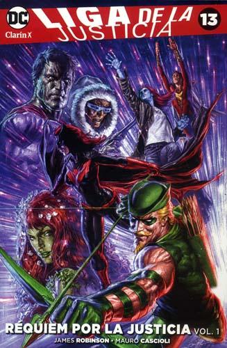 12 - [DC - Clarín] Liga de la Justicia 13a10