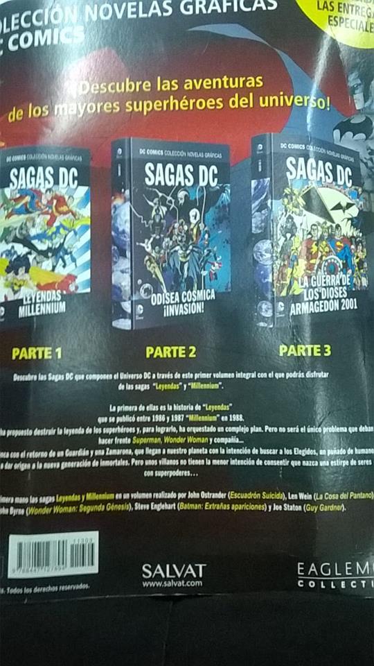 851 - [DC - Salvat] La Colección de Novelas Gráficas de DC Comics  - Página 5 Sagas10