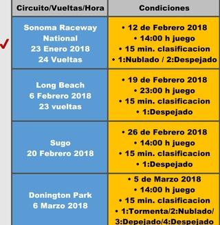 INSCRIPCIONES ABIERTAS / CALENDARIO Screen24