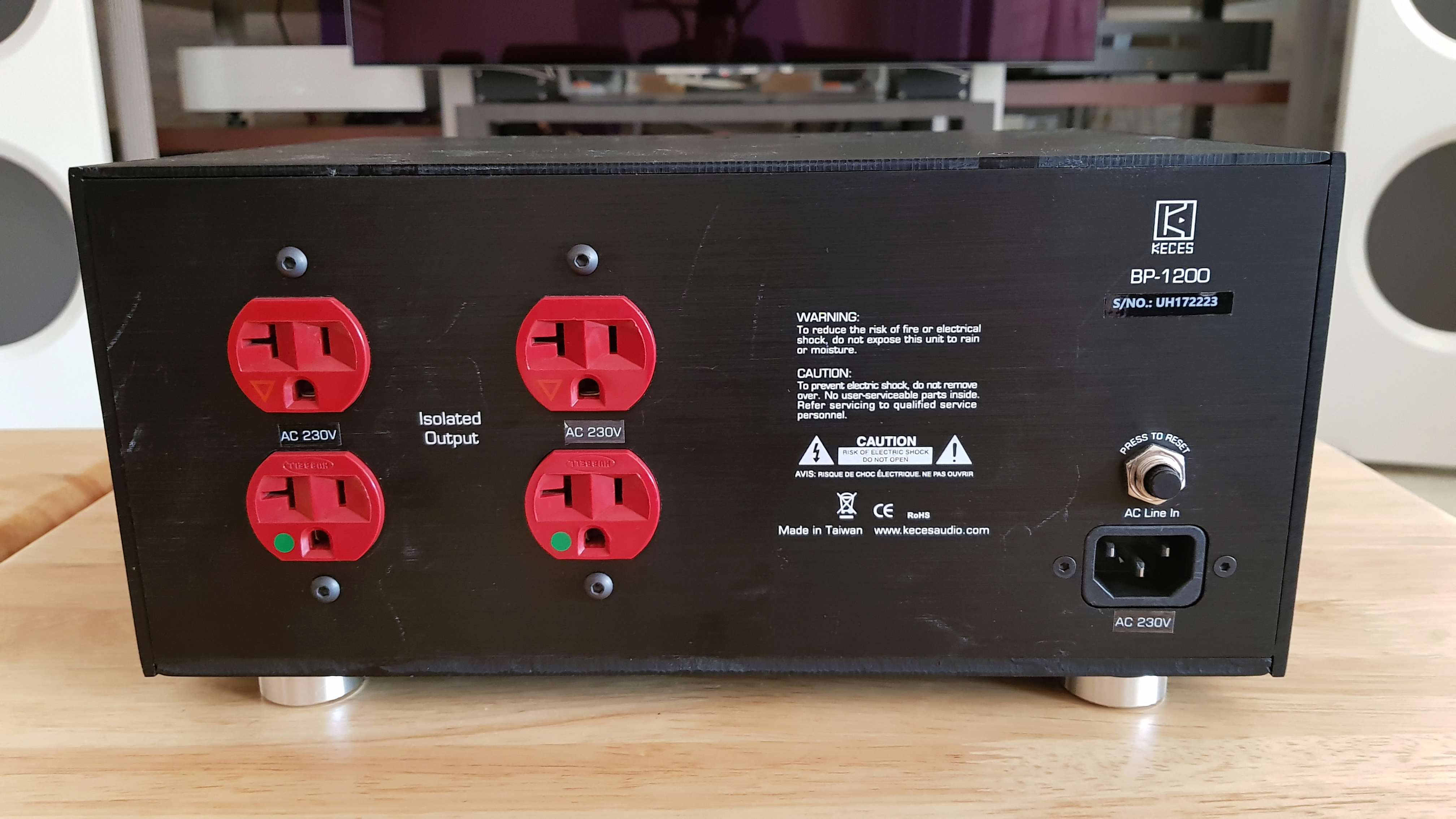 Keces BP-1200 Power Isolator(Sold) 20180612