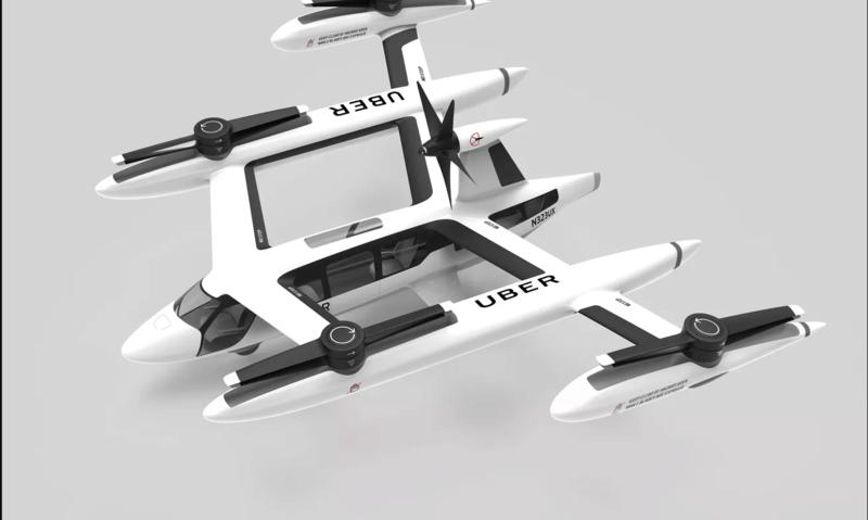 Ιδού το ιπτάμενο ταξί της Uber Screen55