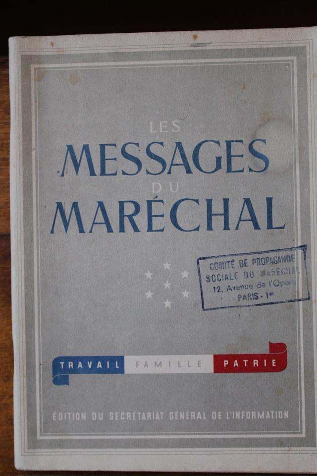 Documents Maréchal Pétain  Img_7713