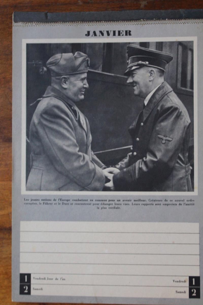 """Calendrier pour 1943 """"L'Ordre Nouveau est en Marche"""" Img_7816"""