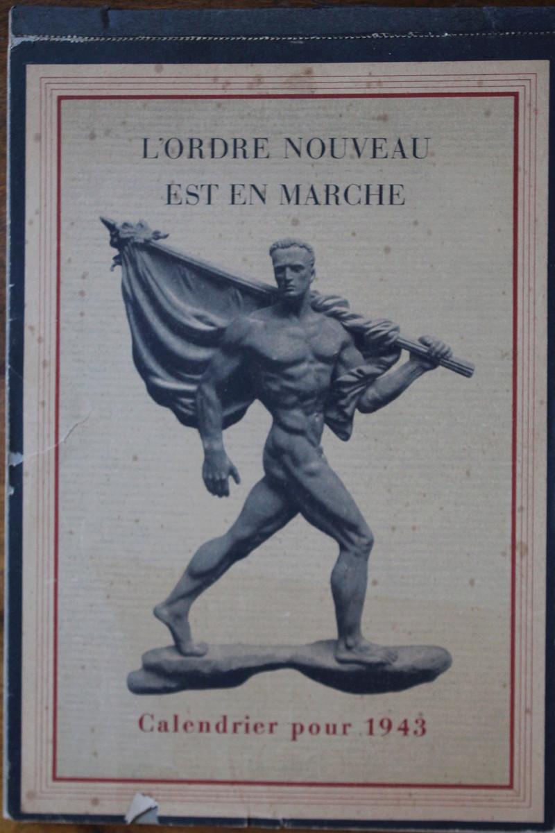 """Calendrier pour 1943 """"L'Ordre Nouveau est en Marche"""" Img_7817"""