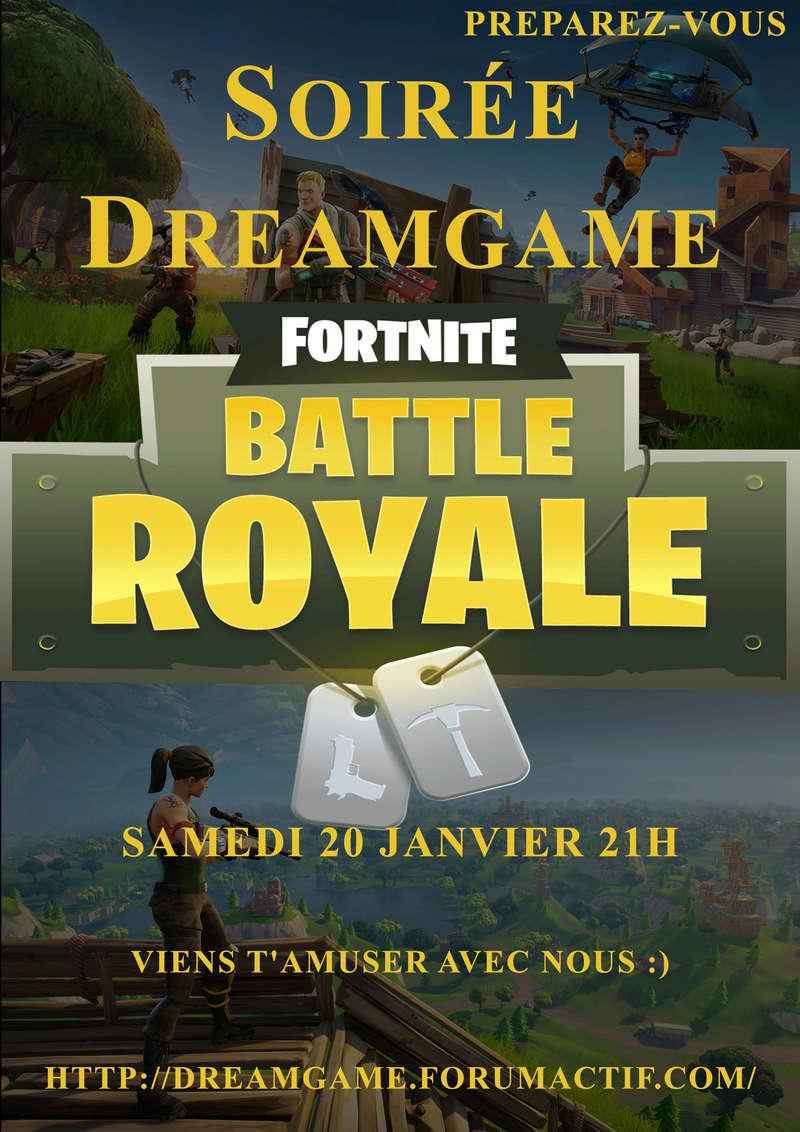 Soirée  Fortnite Dreamg10