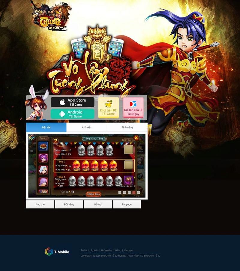 Game Mobile Mộng Anh Hùng 3D  Free Open S3- Anh Hùng ngày 13/10! Hôm nay Vip10