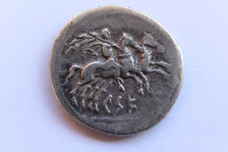 Análisis de un denario de Kese mediante XRF Img_9713