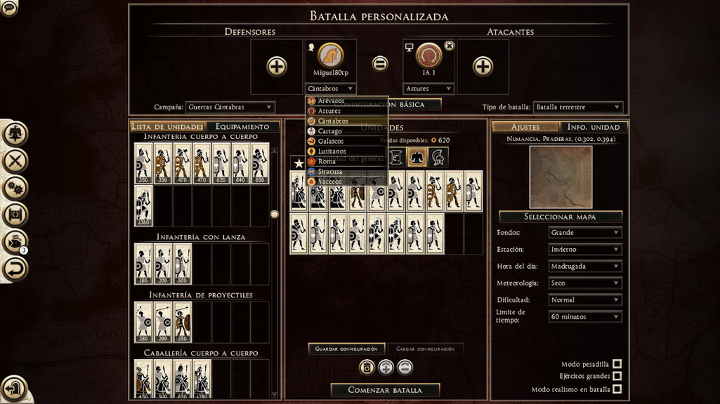 Cantabrian Wars HatG 1.1 Menu_b10