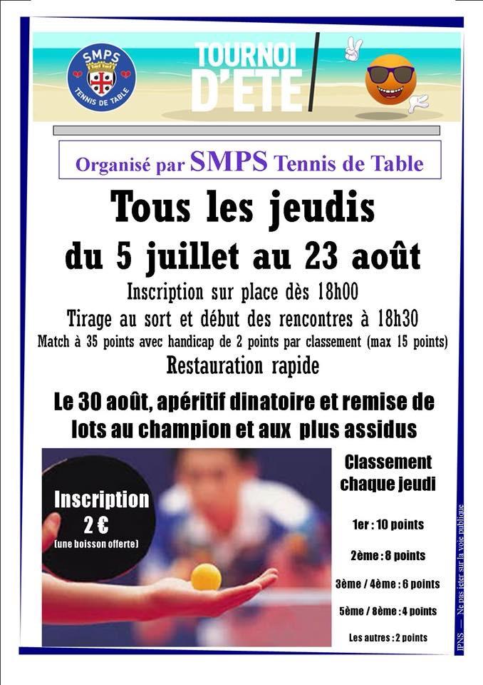 Première édition du tournoi d'été du SMPS chaque jeudi soir  09490610