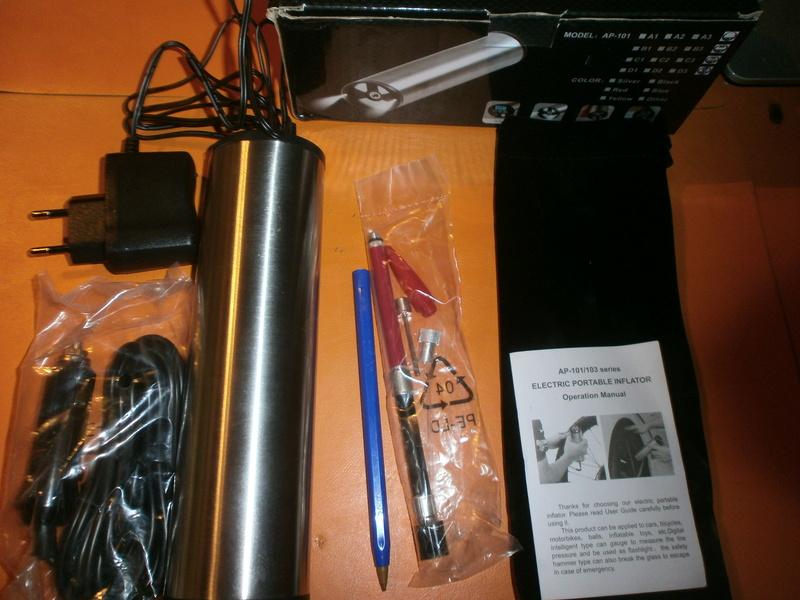 Inflador (Bombín) eléctrico P1060011