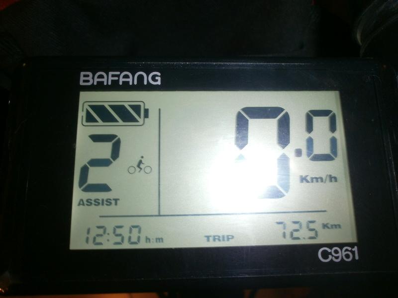 """Bafang 48v 750w """"El chinito cumplió 1000 Km"""" Pb230010"""