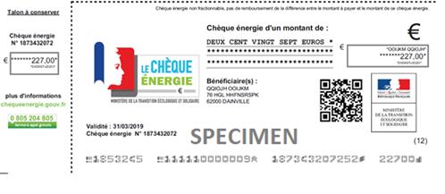 Nicolas Hulot lance la campagne de distribution du « chèque énergie » Chyque10