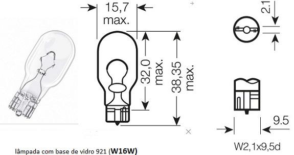 Lâmpadas externas e internas (March) L_w16w10