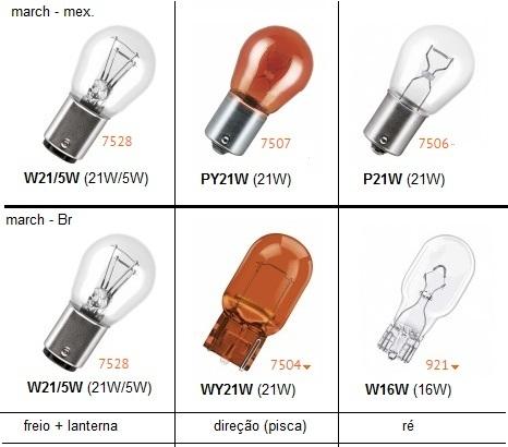 Lâmpadas externas e internas (March) Lampad10