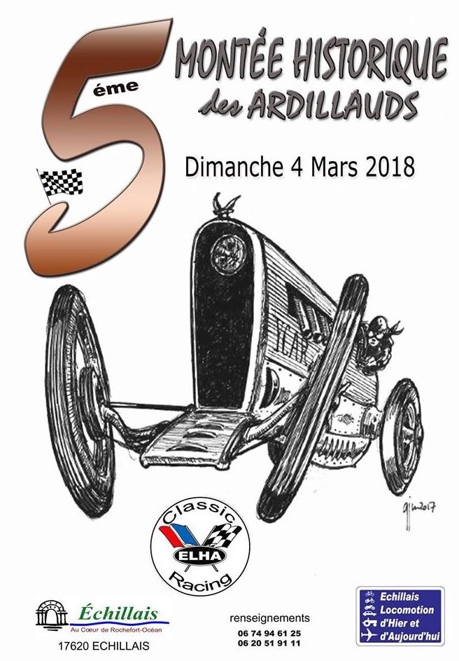 5ième Montée Historique des Ardillauds à ECHILLAIS L_affi10