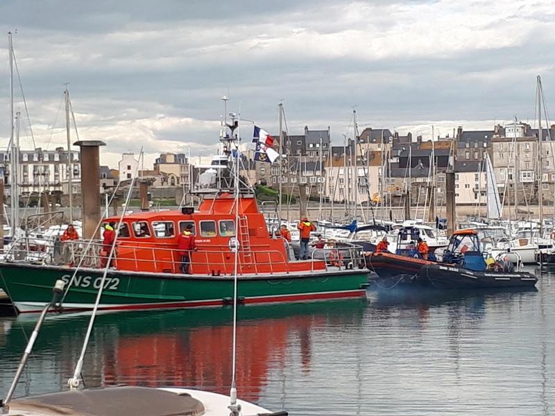 Vedette Pourquoi Pas ? II SNSM Saint-Malo (scratch) de APRUZ 20180412