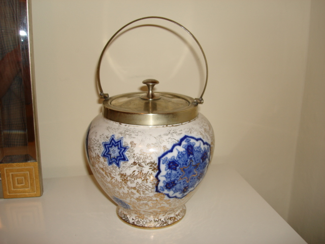 Jam pot - probably 19th century Pictur14