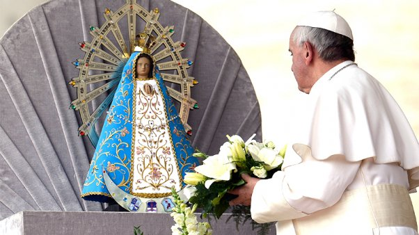 AVE MARIA pour notre Saint-Père le Pape François - Page 3 Virgen10