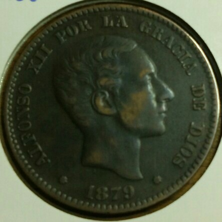 5 céntimos Alfonso XII 1877 Cay17410