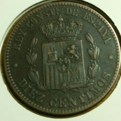 5 céntimos Alfonso XII 1877 Cay17411