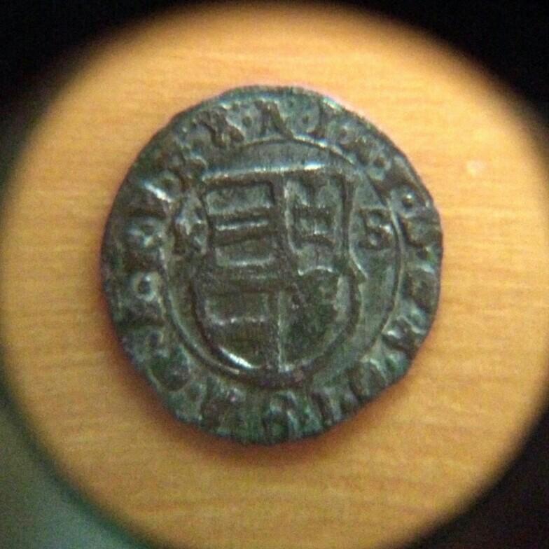 Denar de Matías II de Hungría (1608 - 1619) ceca Kremnitz Hungri10