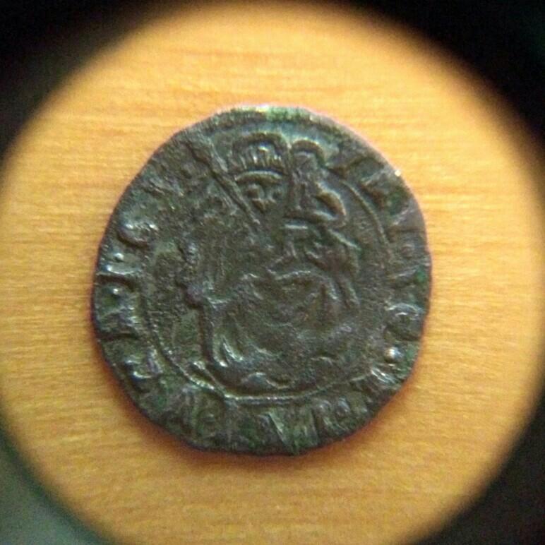 Denar de Matías II de Hungría (1608 - 1619) ceca Kremnitz Hungri11