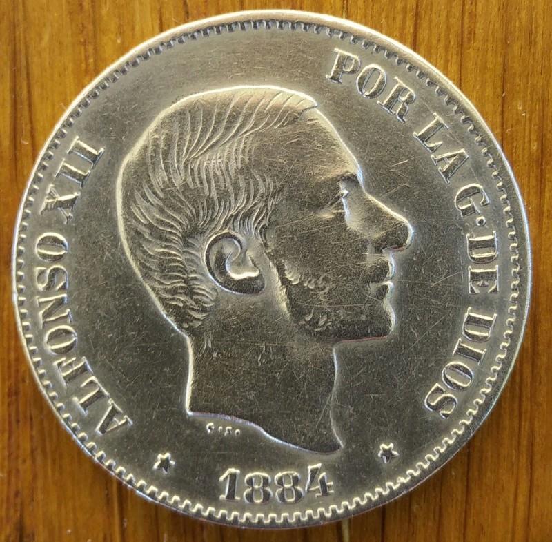 1884 Manila 50 Centavos de Peso Alfonso XII Img_2010