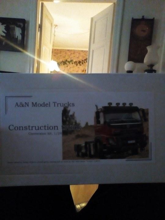 A&N Volvo FMX hytt i 1/24 (resin) 23193010