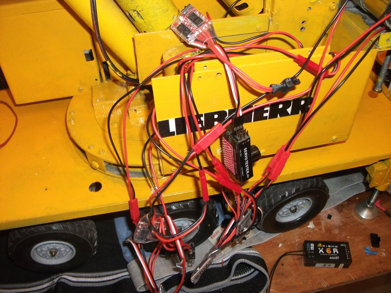 Mes modèles d'engins de TP électro hydrauliques 02210