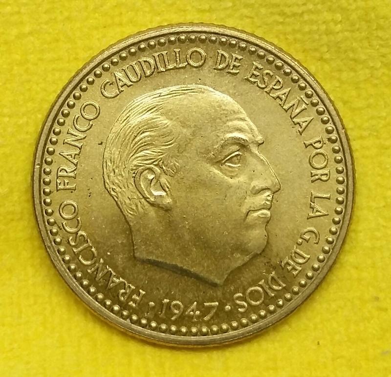 1 Peseta 1947 (*E-51). Estado Español 20171212