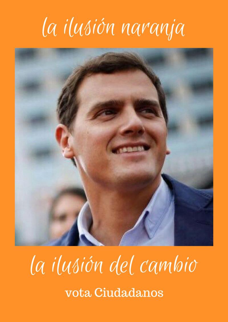 Ciudadanos (Cs) Campaña Electoral  Tie10