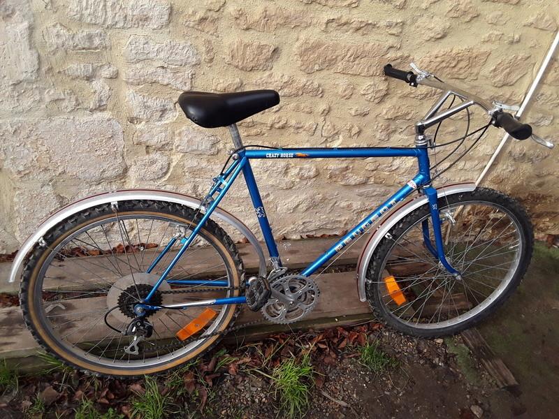 Vtt Peugeot crasy horse vtt1 bleu entre 1982 et 1984 ? 20180117
