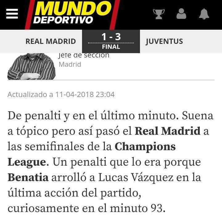 Real Madrid - Juventus (vuelta 1/4 UCL 2018) - Página 2 15234811