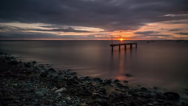 Coucher de soleil sur la Guadeloupe 38717610