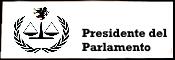Presidente del Parlamento