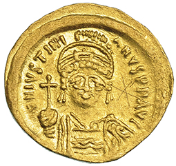 Graffitis en moneda bizantina Grafit10